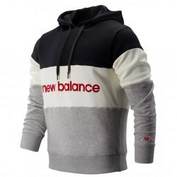 New Balance Felpa Athletics Stadium Hoodie MT93545BKW