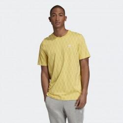 Adidas T-shirt Mono Allover Print FM3425