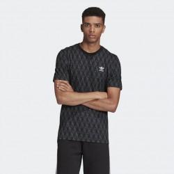 Adidas T-shirt Mono Allover Print FM3423