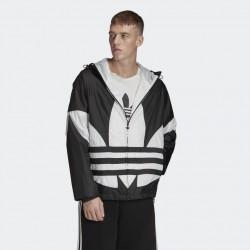 Adidas Giacca a Vento Big Trefoil FM3757