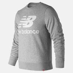 New Balance Essentials Stacked Logo Crew MT91548AG