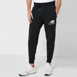 New Balance pantalone Essentials Stacked Logo MP91550BK