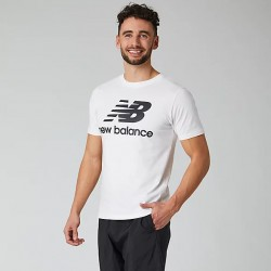New Balance T-shirt Essentials Stacked Logo MT01575WK
