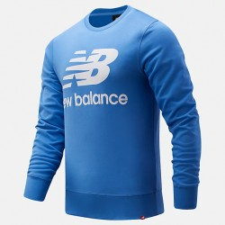 New Balance Felpa Essentials Stacked Logo Crew MT03560FCB