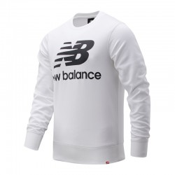 New Balance Felpa Essentials Stacked Logo Crew MT03560WT