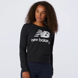New Balance Felpa Essentials Crew WT03551BK