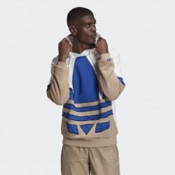 Adidas felpa Hoodie Big Trefoil Outline Colorblock GE6225