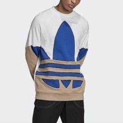 Adidas felpa Big Trefoil Outline Crew Sweatshirt GE0814