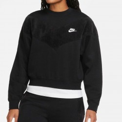Nike felpa Heritage Crew Velour CZ1876 010