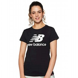 New Balance T-shirt Essentials Stacked Logo Tee WT91546BK