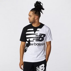 New Balance T-shirt Athletics Splice Tee MT11513BM
