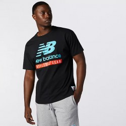 New Balance T-shirt Essential Logo Tee MT11517BK
