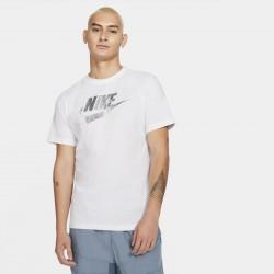 Nike T-shirt Sportswear Brand Mark Application Silver DB6527 100