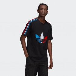 Adidas T-shirt Adicolor Tricolor GQ8920