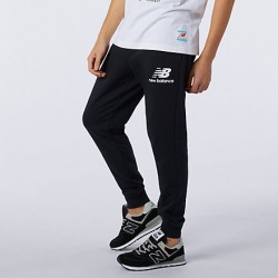 New Balance pantalone Essential Stack Logo Slim MP11507BK