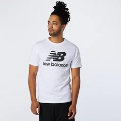 New Balance T-shirt Essentials Stacked Logo MT01575WT