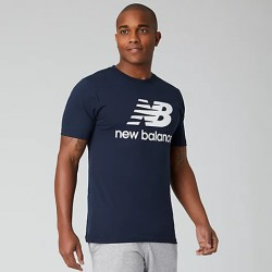 New Balance T-shirt Essentials Stacked Logo MT01575ECL