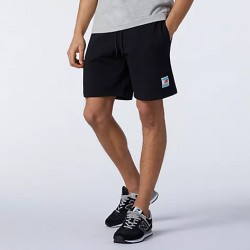 New Balance Pantaloncino Essentials Fleece Short MS11502BK