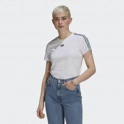 Adidas T-shirt Adicolor 3D Trefoil Slim GN2894