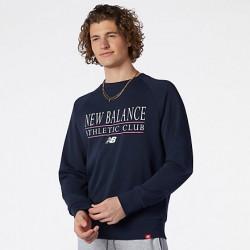 New Balance Felpa Essentials Athletic Club Crew MT13520ECL