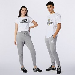 New Balance pantalone Essential Stack Logo Slim MP11507AG