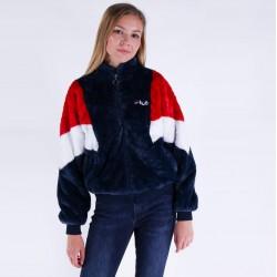 Fila Giubbotto Women Elin Fake Fur Jacket 688931 K14