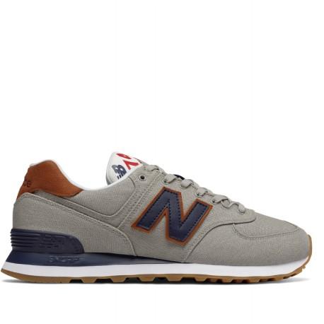 NEW Balance 574 Sea Escape Sneaker Scarpe da Uomo Grigi ml574ylb