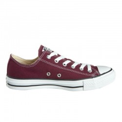 Converse All Star Rosso Bordeaux bassa M9691C