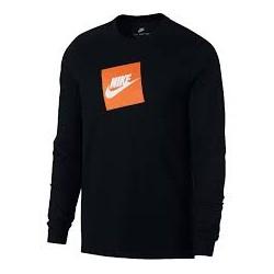 Nike T-shirt NSW Tee LS Futura Box AJ3873 010